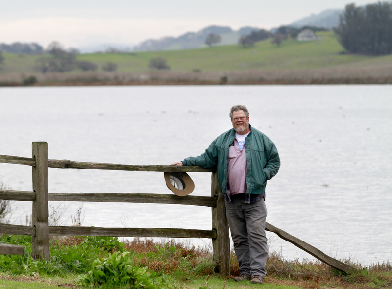 As a docent with Petaluma Wetlands Alliance, Tim Talamantes brings nature alive for third graders. (Beth Shlanker / Press Democrat)
