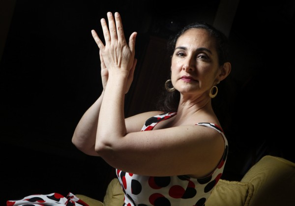 Sara Zanolini, Flamenco dancer and teacher. (Beth Schlanker / Press Democrat)