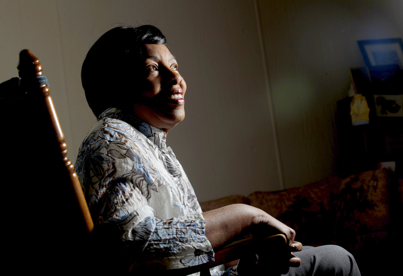 Gloria Robinson, founder of Petaluma Blacks for Community Development. (Beth Schlanker / Press Democrat)
