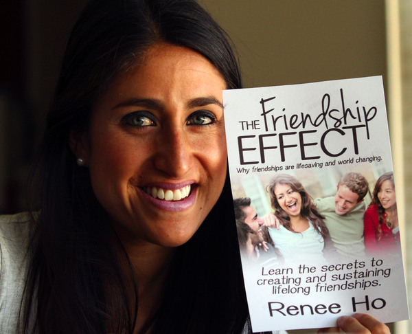 Renee Ho has written a book about how to make and keep friends. (Jeff Kan Lee / Press Democrat)